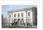 View of the 'new' theatre, Drury Lane, Westminster, London by Anonymous