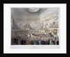 Meeting of the Society of Arts in the Adelphi Buildings, Westminster, London by J Bluck