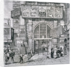 View of the eastern entrance to Exeter Change, Westminster, London by Anonymous