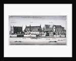 Westminster Abbey and the Palace of Westminster from the River Thames, London by Wenceslaus Hollar