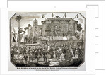 A fair held at Hyde Park during Queen Victoria's coronation in 1838 by Anonymous