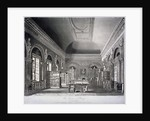 The Queen's library in St James's Palace, Westminster, London by R Reeves