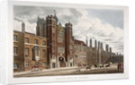 View of the front of St James's Palace, Westminster, London by Anonymous