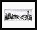View of New Palace Yard and Westminster Hall, London by Anonymous