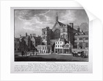 North-west view of Westminster Hall, London by