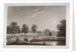View of the Serpentine and Hyde Park, London by Matthew Dubourg