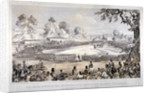 View of Hyde Park during the Volunteer Rifle Corps review by Queen Victoria, London by CJ Culliford