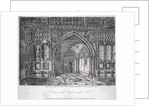 View of the entrance to Westminster Hall, London by John Greig