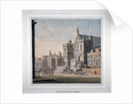 View of Westminster Halll and New Palace Yard, London by Anonymous