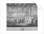 Henry III renewing and confirming the Magna Carta, Westminster Hall, London by John Miller