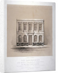 The laboratories of the Royal College of Chemistry, Hanover Square, Westminster, London by