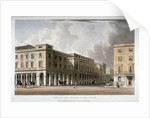 View of the King's Theatre, Haymarket, London by Anonymous