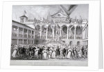 The re-opening of Hungerford Market, Westminster, London by JS Templeton