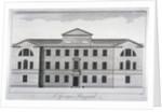 Front elevation of St George's Hospital, Hyde Park Corner, Westminster, London, c1740 by