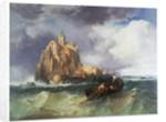 Mont St Michel by James Webb