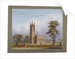 South-west view of St Nicholas Church, Tooting, London by C Rosenberg
