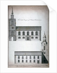 Two 17th century London churches by Benjamin Cole