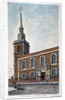 View of St James's Church, Piccadilly from Jermyn Street, London by Frederick Nash