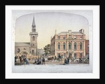 St James's Church, Piccadilly and the new vestry hall, London by Robert Dudley