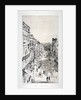 View of St James's Street, Westminster, London, c1878(?) by Whistler
