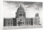 North view of St Paul's Cathedral, City of London by