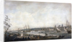 Greenwich Hospital from the Isle of Dogs, London by