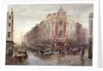 Market on a Sunday morning at Seven Dials, Holborn, London by