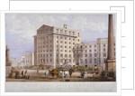 Sugar refinery in Leman Street, Stepney, London by Vincent Brooks