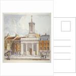 St Mark's Church, North Audley Street, London by Robert Blemmell Schnebbelie