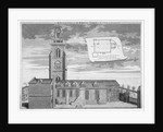 Church of St Martin-in-the-Fields, Westminster, London by George Vertue