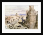 Harlech Castle from the ramparts by