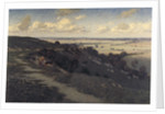 Bury Hill and Village with a View of the North Downs by Jose Weiss