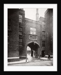 View of Lincoln's Inn Gatehouse, Holborn, Camden, London by