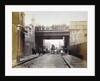 View of Shoe Lane Bridge, City of London by Henry Dixon