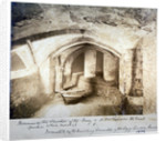 Remains of the cloisters of St Bartholomew-the-Great prior to their removal, City of London by Anonymous