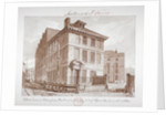 View of a brew house on Stoney Lane, Bermondsey, Southwark, London by