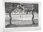 View of the Royal Horse Guards Barracks, Knightsbridge, Westminster, London by