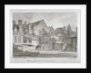 View of Westminster School in Little Dean's Yard, Westminster, London by John Chessell Buckler
