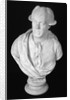 Bust of John Wilkes, 18th century English journalist and politician by Louis Francois Roubiliac