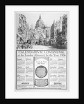 St Paul's Cathedral and Fleet Street, City of London by