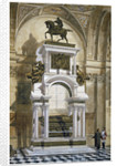 Wellington's Monument in St Paul's Cathedral by Robert Whellock