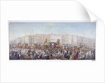 Queen Caroline travelling to St Paul's Cathedral, London, 20th November 1820 (1821) by RWU
