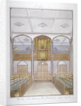 The chapel in the Philanthropic Society Institution on London Road, Southwark, London by G Yates