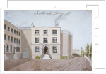 View of King's Bench Prison in St George's Fields, Southwark, London by