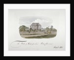 View of the Earl of Buckinghamshire's mansion at Putney Common, London by