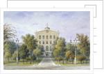 Bridewell Prison in Tothill Fields, Westminster, London by Thomas Hosmer Shepherd