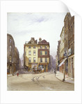 Wych Street and Holywell Street, Westminster, London by John Crowther
