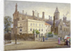 View of Whitelands House, King's Road, Chelsea, London by John Crowther