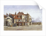 View of Lawrence Street, Chelsea, London by John Crowther