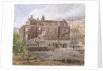 East front of the Almonry office, Middle Scotland Yard, Westminster, London by